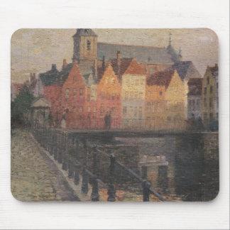 Quai de la Paille, Bruges Mouse Mat