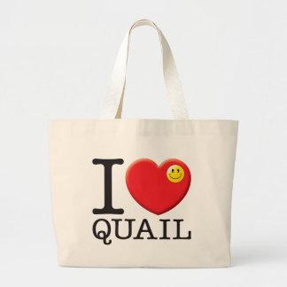 Quail Tote Bags