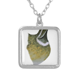 quail bird, tony fernandes silver plated necklace