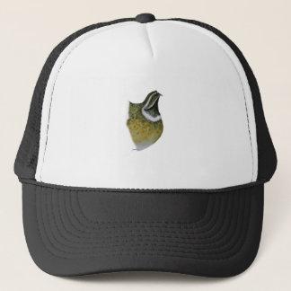 quail bird, tony fernandes trucker hat