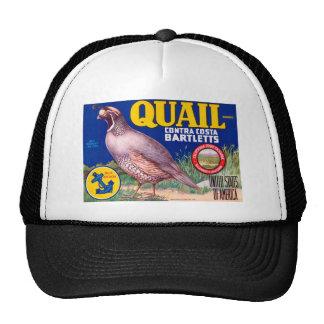 Quail Cap