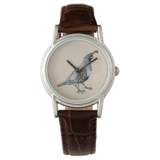 Quail crazy wristwatches