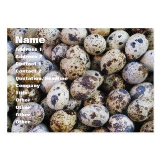 Quail Eggs Business Card Templates