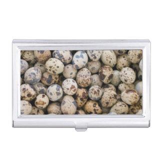 Quail Eggs, Huaraz, Cordillera Blanca, Ancash Business Card Holders