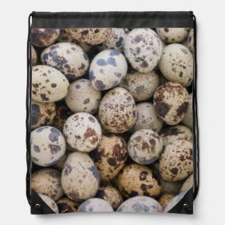 Quail Eggs, Huaraz, Cordillera Blanca, Ancash Drawstring Bag