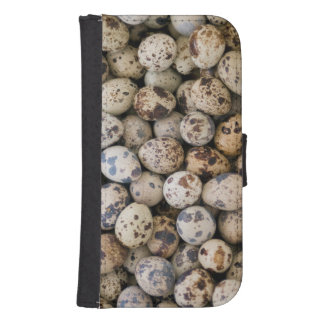 Quail Eggs, Huaraz, Cordillera Blanca, Ancash Samsung S4 Wallet Case