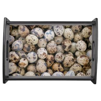 Quail Eggs, Huaraz, Cordillera Blanca, Ancash Serving Tray