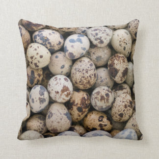 Quail Eggs, Huaraz, Cordillera Blanca, Ancash Throw Pillow