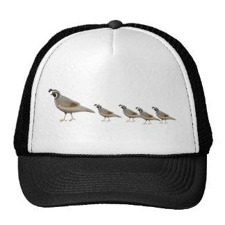 Quail Family Trucker Hat