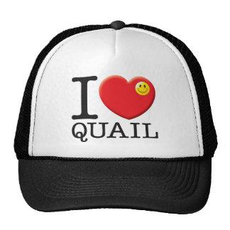 Quail Trucker Hats