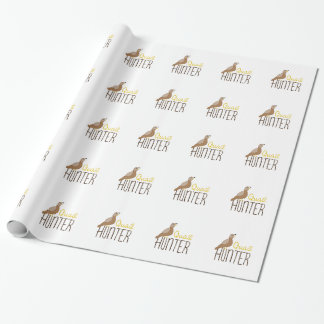 Quail Hunter Wrapping Paper