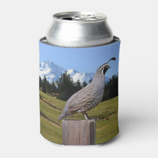 QUAIL ON DREAM POINT CAN COOLER
