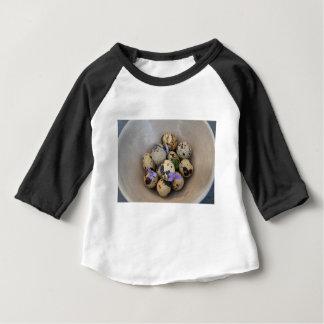 Quails eggs & flowers 7533 baby T-Shirt