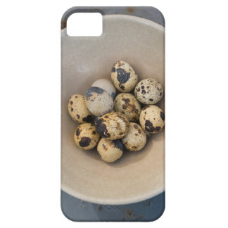 Quails eggs in a bowl iPhone 5 cases