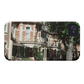 Quaint architecture exterior, Canada iPhone 4 Covers