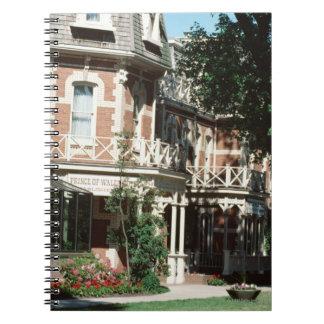 Quaint architecture exterior, Canada Spiral Notebooks