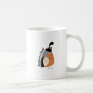 Quaint As Quail Mug