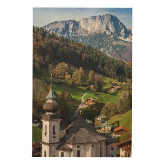 Quaint bavarian village, Germany Wood Print
