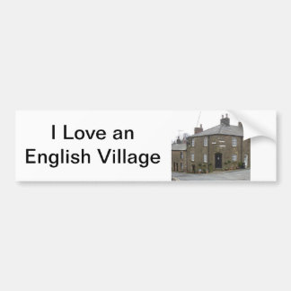 Quaint English Village Bumper Sticker