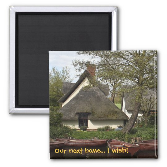 Quaint Thatched Cottage fridge magnet