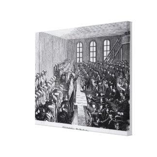 Quaker Meeting, Philadelphia Canvas Print