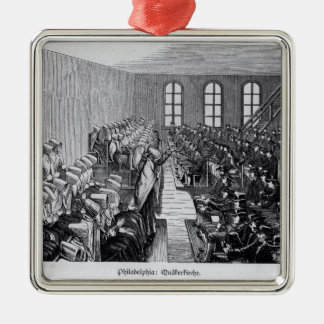 Quaker Meeting, Philadelphia Christmas Ornament