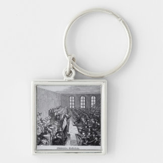 Quaker Meeting, Philadelphia Key Ring