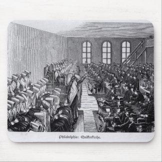 Quaker Meeting, Philadelphia Mouse Mat