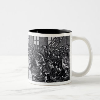 Quaker Meeting, Philadelphia Two-Tone Coffee Mug
