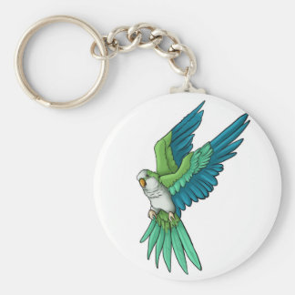 Quaker Parrot Products Key Ring