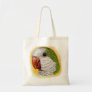 Quaker parrot realistic painting
