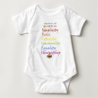 Quaker Spices Baby Bodysuit