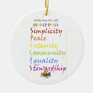 Quaker Spices Christmas Ornament