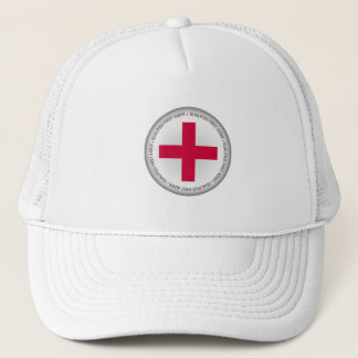 Qualified First Aider Medical Aid Trucker Hat