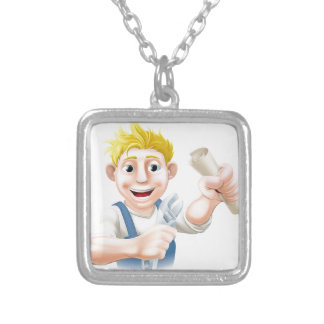 Qualified plumber custom necklace