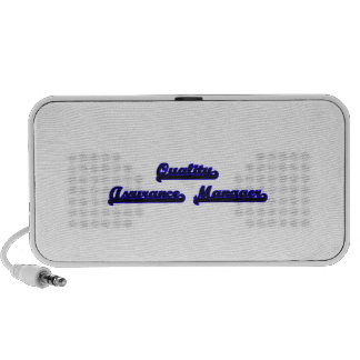 Quality Assurance Manager Classic Job Design Portable Speakers
