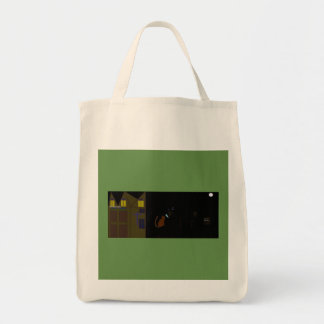 Quality halloween tote bag