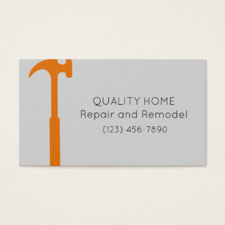Quality Home Repair and Remodel Business Card