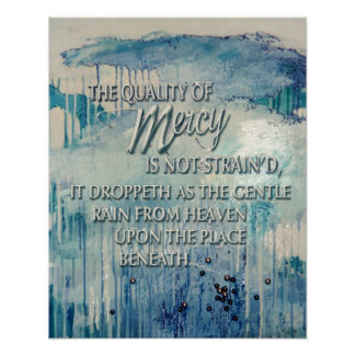 Quality of Mercy Poster