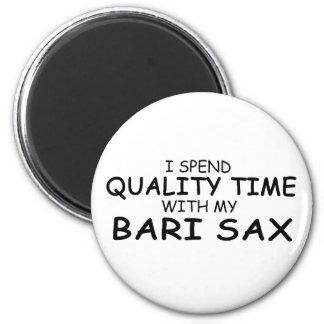 Quality Time Bari Sax Fridge Magnets