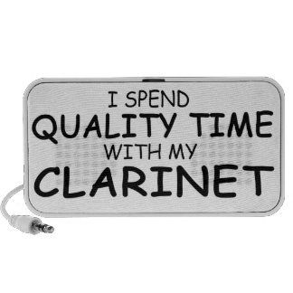 Quality Time Clarinet Speaker System