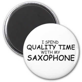 Quality Time Saxophone Magnets