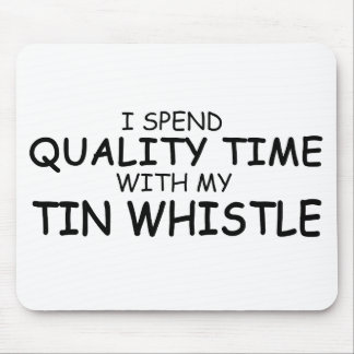 Quality Time Tin Whistle Mousepads