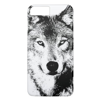 Quality Unique Wolf Artwork iPhone 7 Plus Case