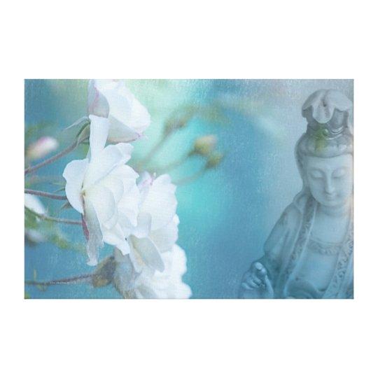 "Quan Yin, 36"" x 24"" - LARGE Canvas Print"