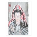 Quan Yin Goddess of Compassion Post Cards