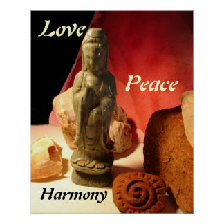 Quan Yin: Love, Peace, Harmony Poster