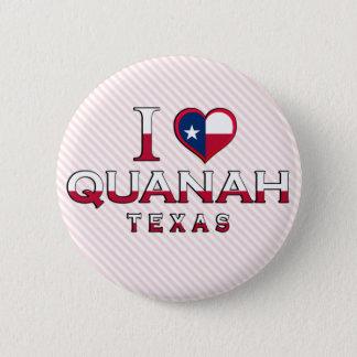Quanah, Texas 6 Cm Round Badge