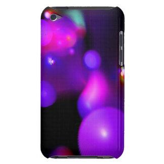 QUANTUM BUBBLE purple Barely There iPod Cases