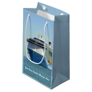 Quantum Comes Calling Personalized Small Gift Bag